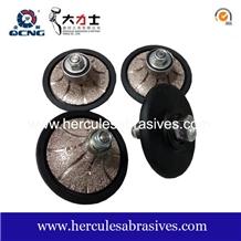 Vacuum Brazed Diamond Profile Wheel