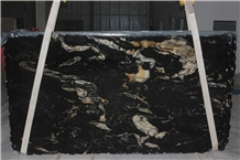 Titanium Black Granite Slabs