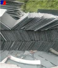 Black Grey Black Slate Roofing Tile Natural Covers