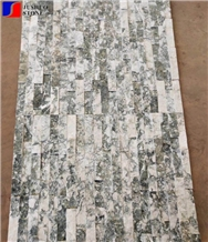Black Grey Granite Ledge Stone Vaneer Tiles