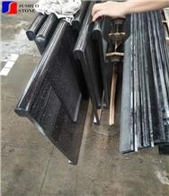 China Black Galaxy Granite Star Kitchen Bar Tops