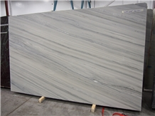 2cm Wonder Grey Vein Marble Slab Bookmatched