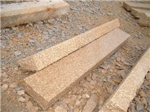 G682 Granite Kerb Stone Palisade Stone