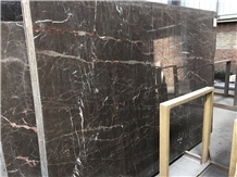 Imperial Brown Gold Marble Slab