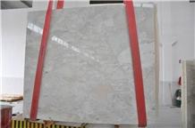 Bianco Leopardo White Marble Slabs