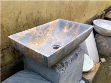 Marble Bathroom Stone Sink Lavabo Basin