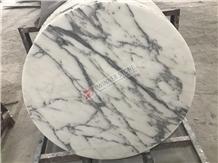 Arabescato Carrara White Marble Tabletops
