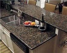 Baltic Brown Granite Kitchen Custom Countertops