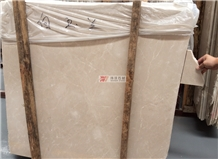 Beige Bathroom Countertop Baiyulan Cream Marble