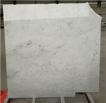 Bianco Carrara Venato Marble Stairs Landing Steps