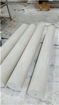Botticino Classical Beige Marble Corinthian Column