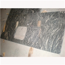 Cheap Granite Juparana Grey Kitchen Custom Worktop