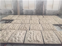 China Beige Sandstone External Wall Cladding Tile