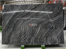 China Black Forest Marble Slab Subway Tiles