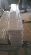 China Carrara White Marble Tile Trims,Decor Border