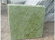 China Light Green Stone Ming Green Marble Slab