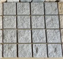 China Light Grey G603 Granite Cobblestone Sets