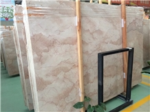 Cream Rose Marble Slab for Faux Marble Floor