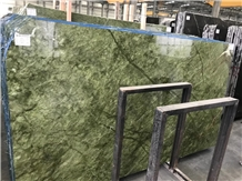 Custom Marble for Wall Tile Ming Green Marble Slab