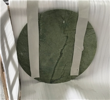 Dandong Green Marble Round Coffee Table Tops