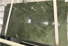 Dark Green Stone Ming Green Marble Slab and Tile