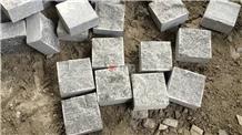 Dark Grey Color G654 Granite Cube Stone Pavers