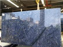 Exotic Azul Bahia Granite Slabs Wall Tiles