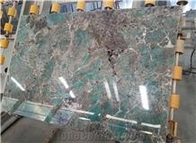 Extroic Stone Amazonita Green Granite Wall Tiles
