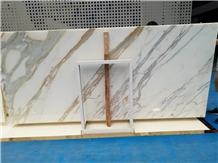 First Choice White Calacatta Gold Marble Slabs