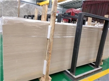 First Quality Serpeggiante Wood Marble Slab