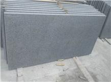 Flamed Yixian Black Granite Wall Flooring Tiles