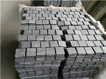G684 Granite Cobble Stone Exterior Pattern Walkway