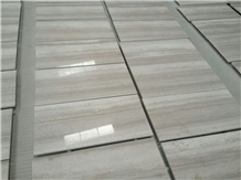 Guizhou White Wood Grain China Serpeggiante Marble