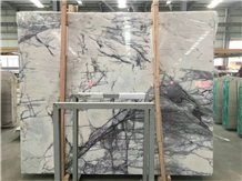 Milas Lilac White Marble Slabs