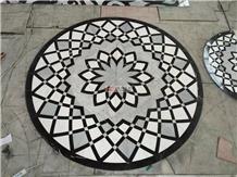 Mosaic Waterjet Medallions Pattern Design