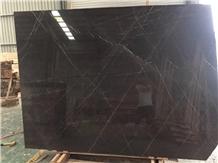 Pietra Grey Marble Slab Honed Brown Flooring Tiles
