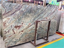 Rain Forest Green Marble Tiles