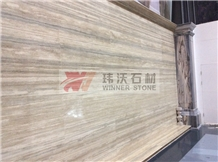 Sliver Travertine Wall Floor Covering Tiles