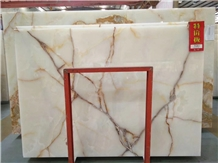Snow Pure White Onyx Slab