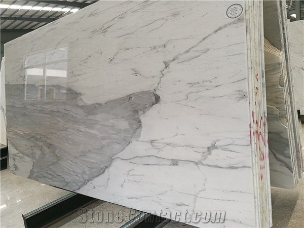 Statuario Marble Slab Near Me White Marble Tiles From China