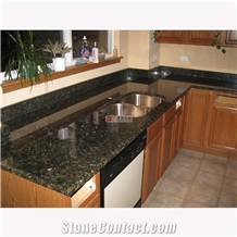 Verde Ubatuba Granite for Kitchen Green Countertop