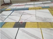 Volakas Drama Semi White Marble Flooring Tiles