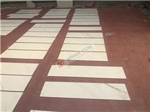 Volax White Marble Threshold Stair Step