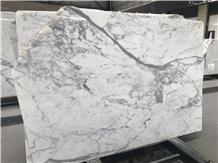 White Calacatta Carrara Marble Slab Tiles for Sale