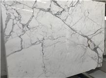 White Marble Calacatta Vagli Slab