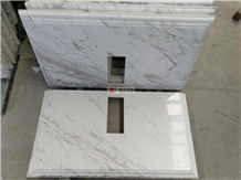 Wholesale White Volakas Kitchen Marble Countertop