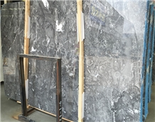 Romantic Grey Hunan Sesame Grey Marble Slabs&Tiles