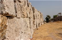 Gitata Gold Granite Block, Pegmatite Granite Block