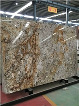 Snow Mountain White Granite for Wall Cladding