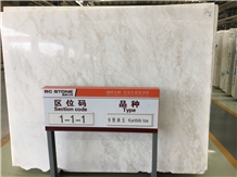 Karibib Ice White Marble Slabs